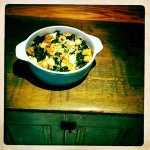 Cauli-Kale Casserole Recipe