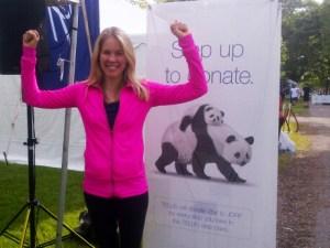 Kathleen at JDRF Fundraiser