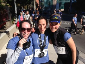Kathleen at Fun 5km with Great Friends Summer 2014
