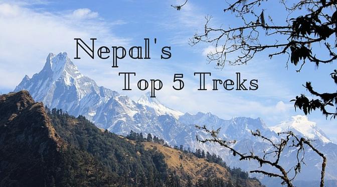 Nepal's Top 5 Treks