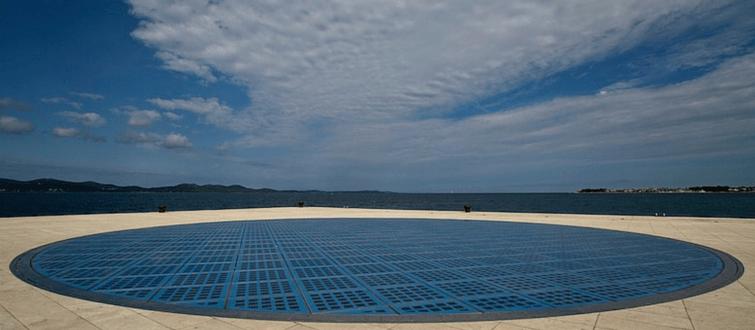 Greetings to the Sun | Sun Salutation Zadar Croatia