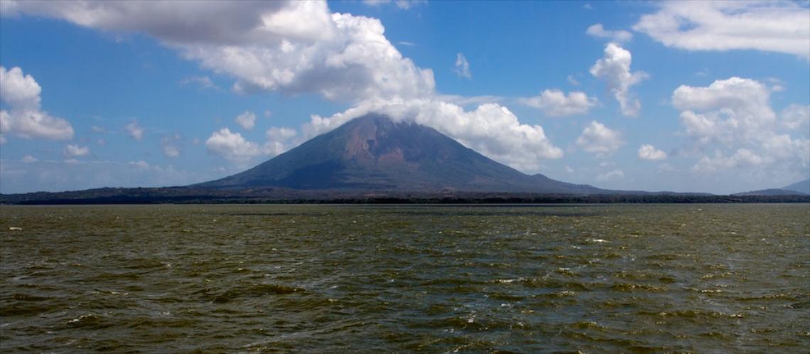 Volcan Concepcion and Lago de Nicaragua Isla de Ometepe Nicaragua