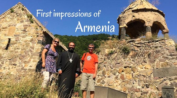 First impressions of Armenia