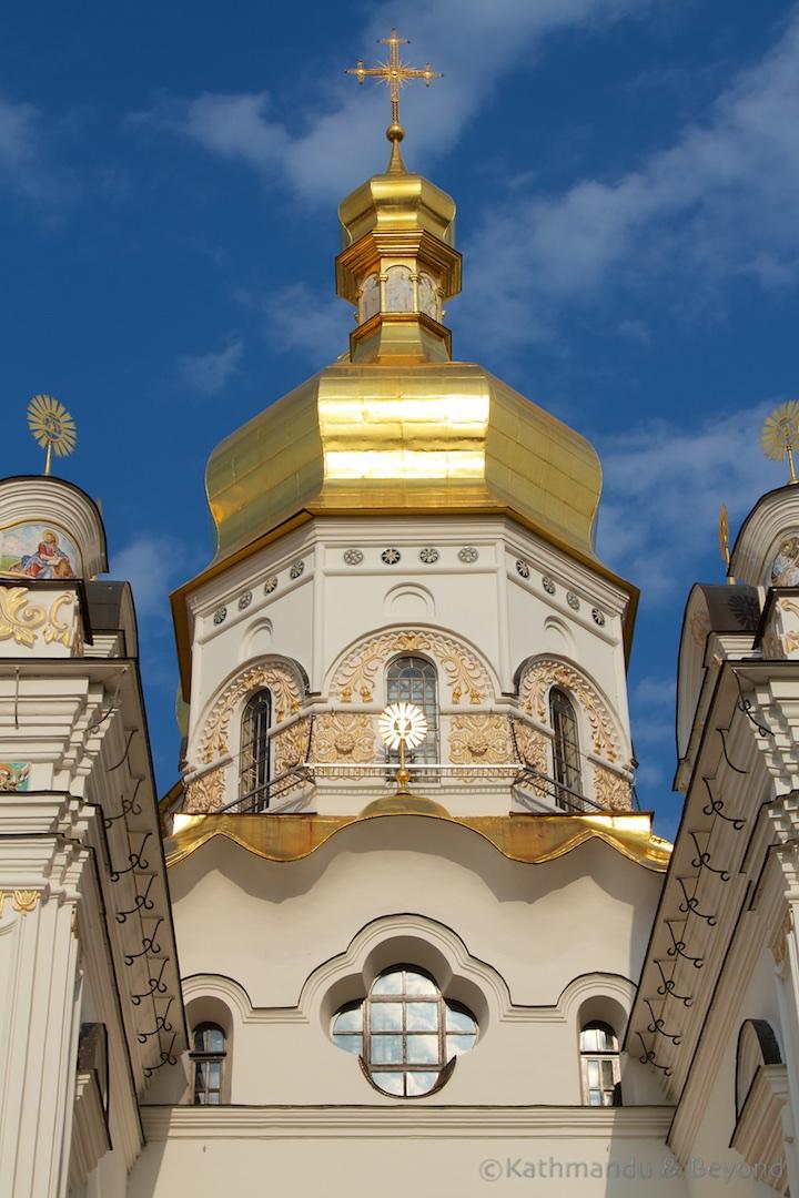 Dormition Cathedral Kievo-Pecherskaya Lavra Kiev Ukraine