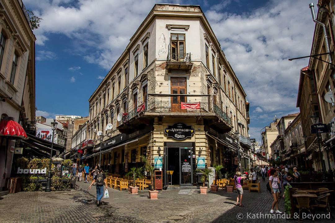 Old Town (Lipscani) Bucharest Romania-2