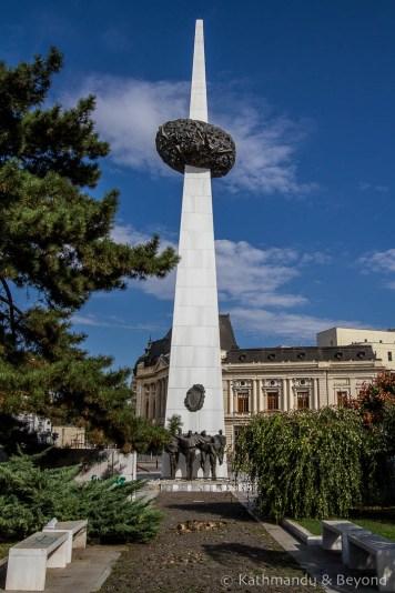 Rebirth Memorial on Revolution Square, Bucharest