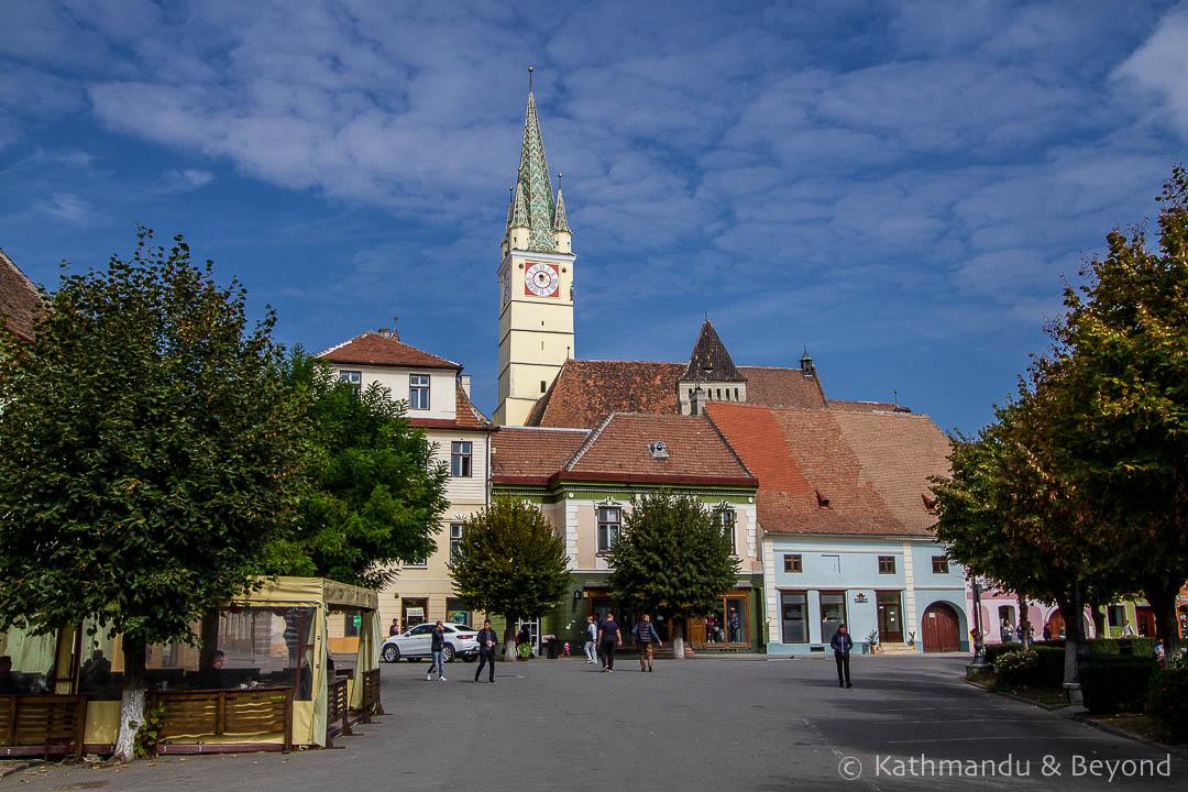 King Ferdinand Square Old Town Medias Romania-3-2