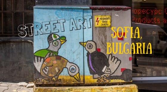 Electric Utility Box Art   Street Art in Sofia, Bulgaria