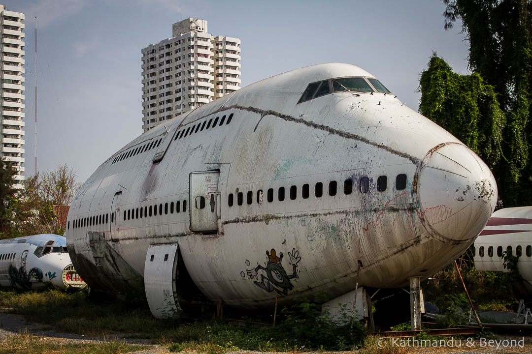 Airplane Graveyard Ramkhamhaeng Bangkok Thailand