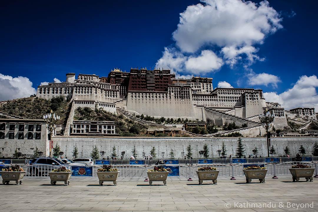 Potala Palace Lhasa Tibet 24