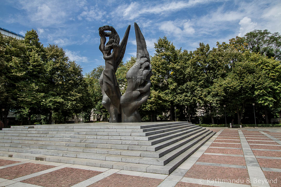 Monument to the Unification of Bulgaria Plovdiv Bulgaria-2