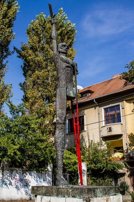 Invingatorul Monument in Timisoara