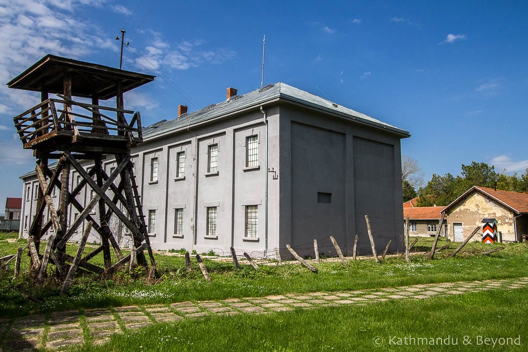 Crveni Krst (Red Cross) Concentration Camp Nis Serbia-6