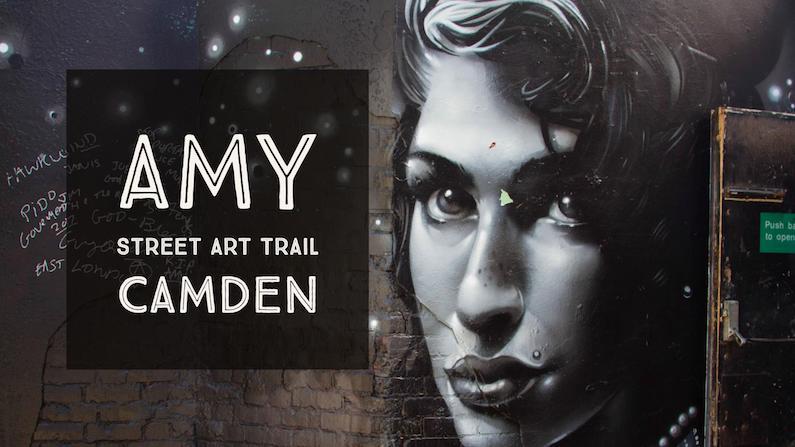 Amy Winehouse Street Art Trail in Camden | London