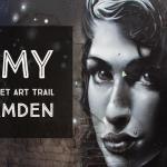 Amy Winehouse Street Art Trail in Camden   London