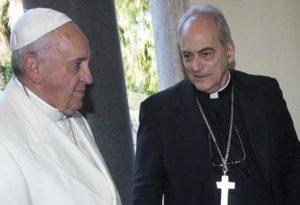 Sanchez Sorondo Mit Papst Franziskus