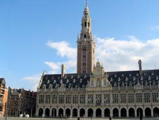 Die Katholische Universität Löwen, älteste und größte Universität Belgiens, mit Identitätsproblemen.
