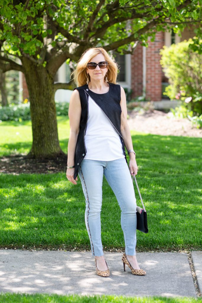 Skinny Jeans with Side Stripes by Kathrine Eldridge, Wardrobe Stylist