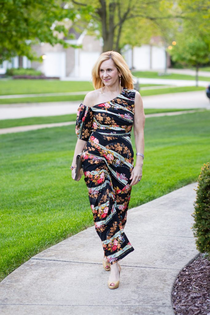 Preen Floral Midi Dress designed by Thornton Bregazzi