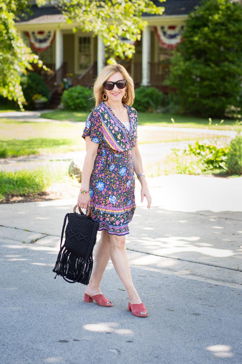 Summer Boho Mini Dress by Kathrine Eldridge, Wardrobe Stylist