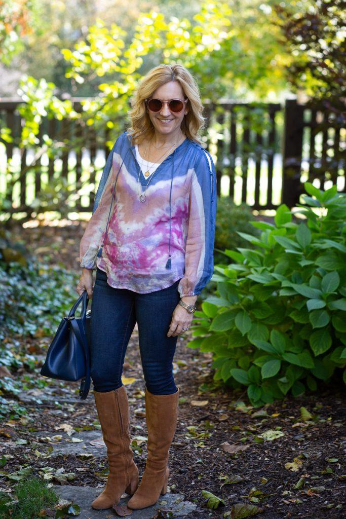 Tie-Dyed Boho Dreaming by Kathrine Eldridge, Wardrobe Stylist