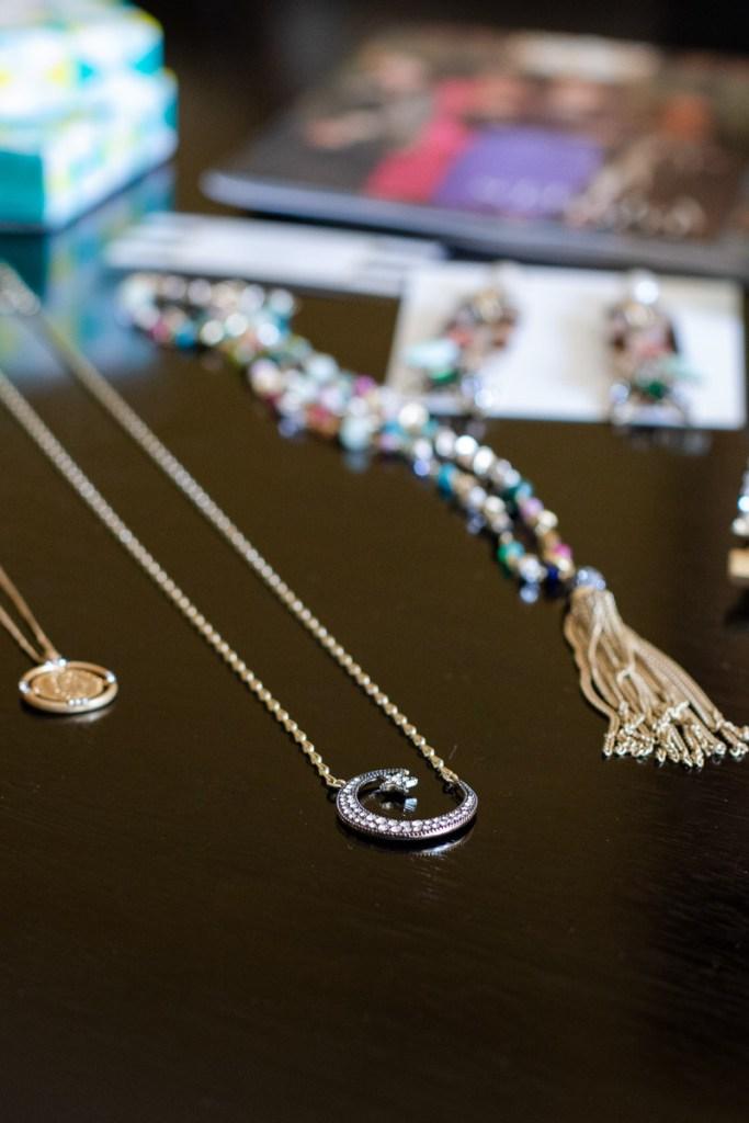 Pave Crescent Necklace by Stella & Dot