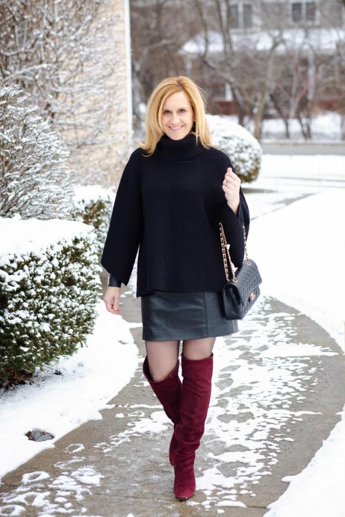 Poncho Sweater with a Side of Chanel by Kathrine Eldridge, Wardrobe Stylist