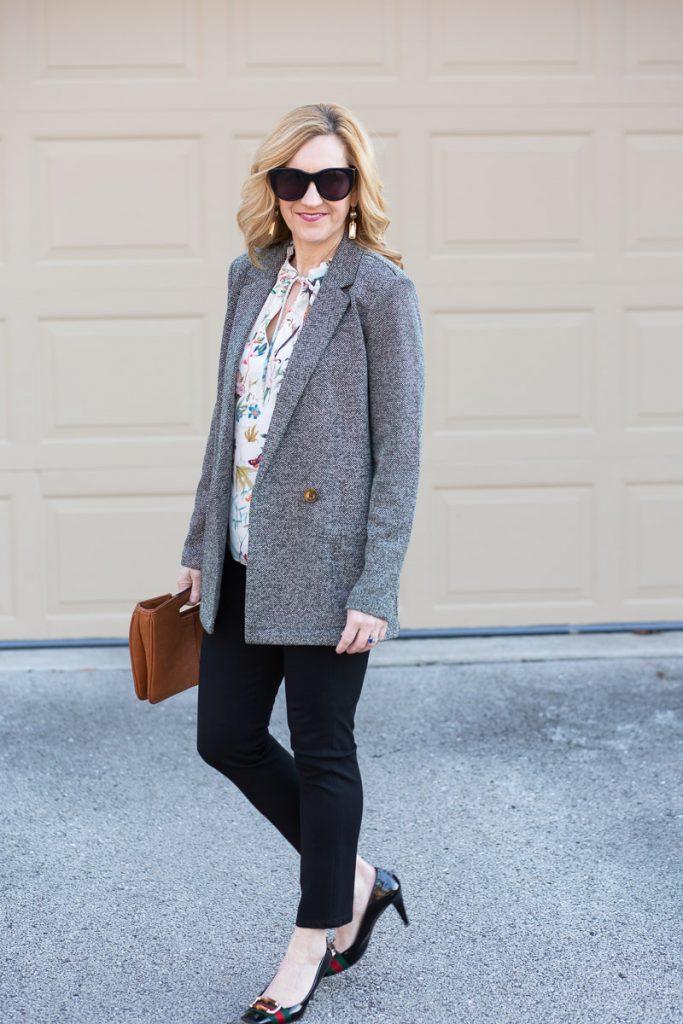 Double Breasted Blazer by Kathrine Eldridge, Wardrobe Stylist