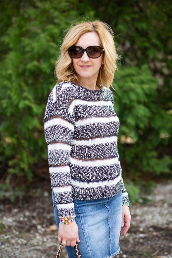 Beach Bonfire Sweater by Saltwater Luxe