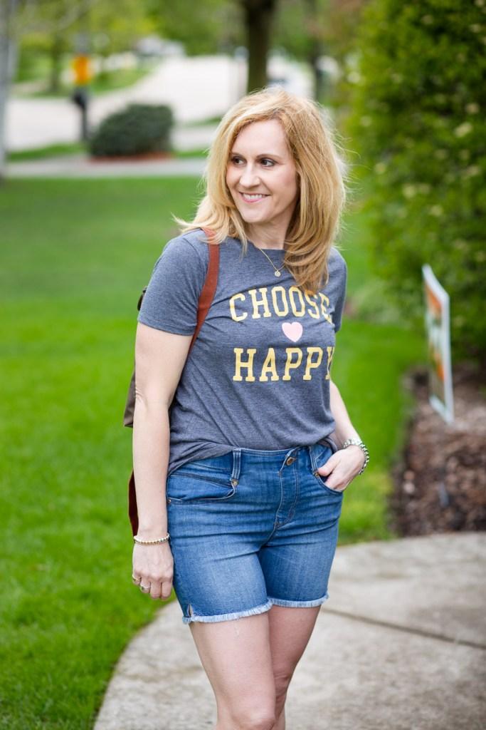 Choose Happy by Kathrine Eldridge, Wardrobe Stylist