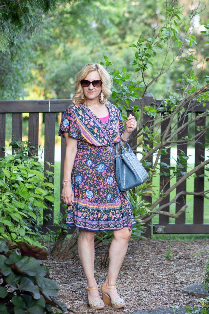 Boho Wrap Dress Take Two by Kathrine Eldridge, Wardrobe Stylist