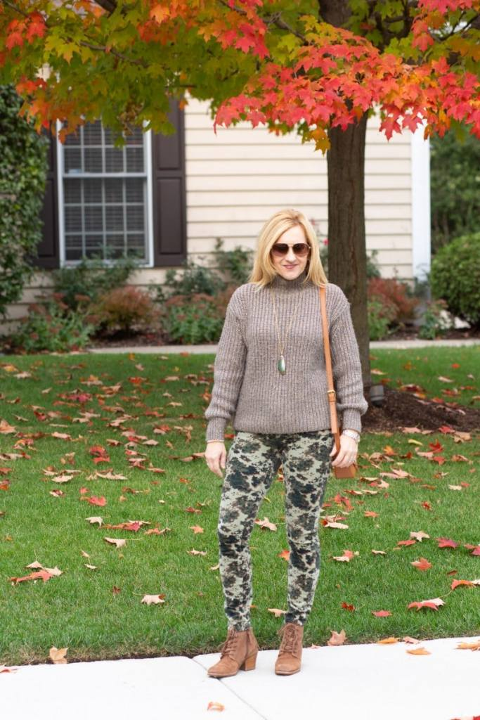 Crazy for Camo Corduroy Skinnies by Kathrine Eldridge, Wardrobe Stylist