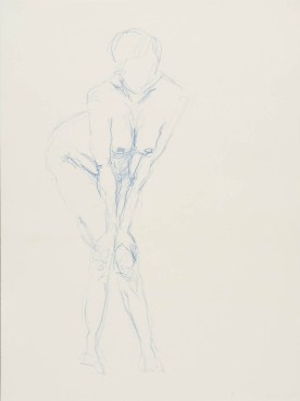 Bleistift und Aquarellstift auf Papier • 30 x 40 cm