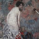 "Aime Nicolas Morot ""Young Woman and Parasol"""