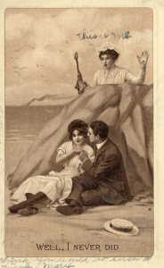 Comic Postcard, 1910