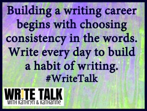 10-31-15 build a habit of writing