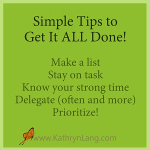 get it all done