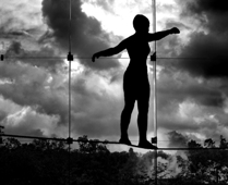 tightrope-walker