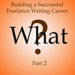 writing career part 2 10-16-13