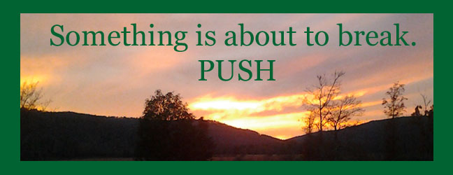 PUSH - something is about to break 3-6-14