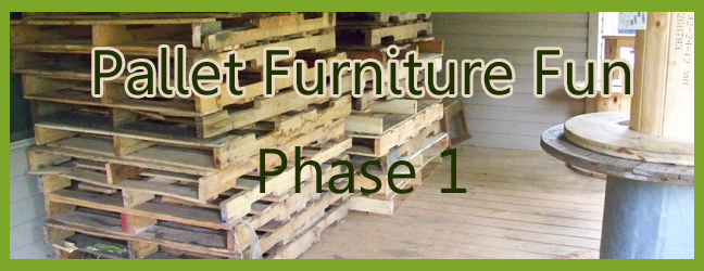 Pallets, Spools and Crafts – Oh, My