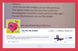 You Are My Delight Facebook