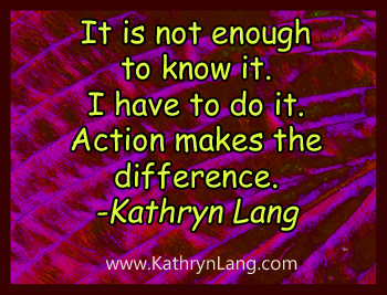 Action makes the difference - 9-10-14 small