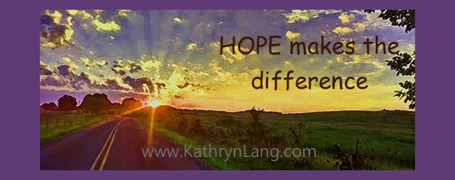 the difference is hope