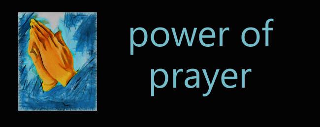 power of prayer copy