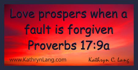 proverbs 17-9