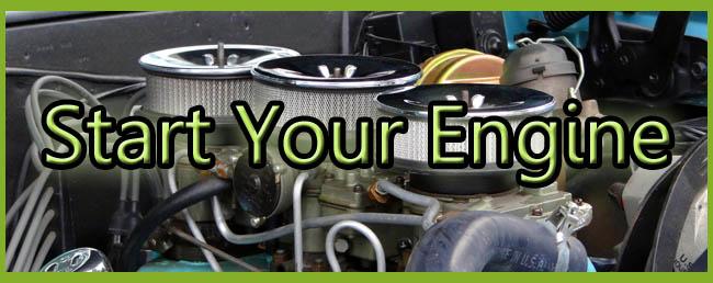 start your engine