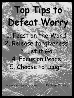 5-18-15 defeat worry