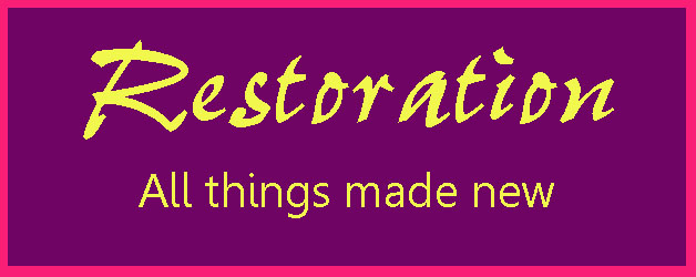Five Simple Tips to Restoration – Living out a Blessed Life