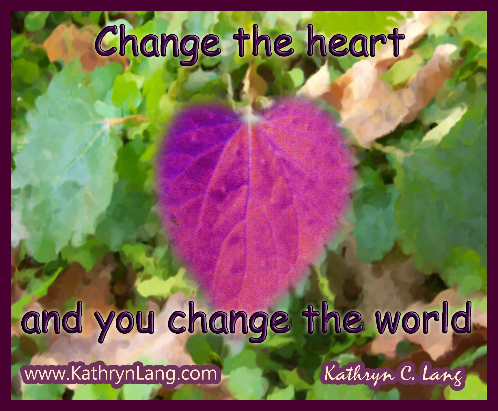 1-21-15 change the heart